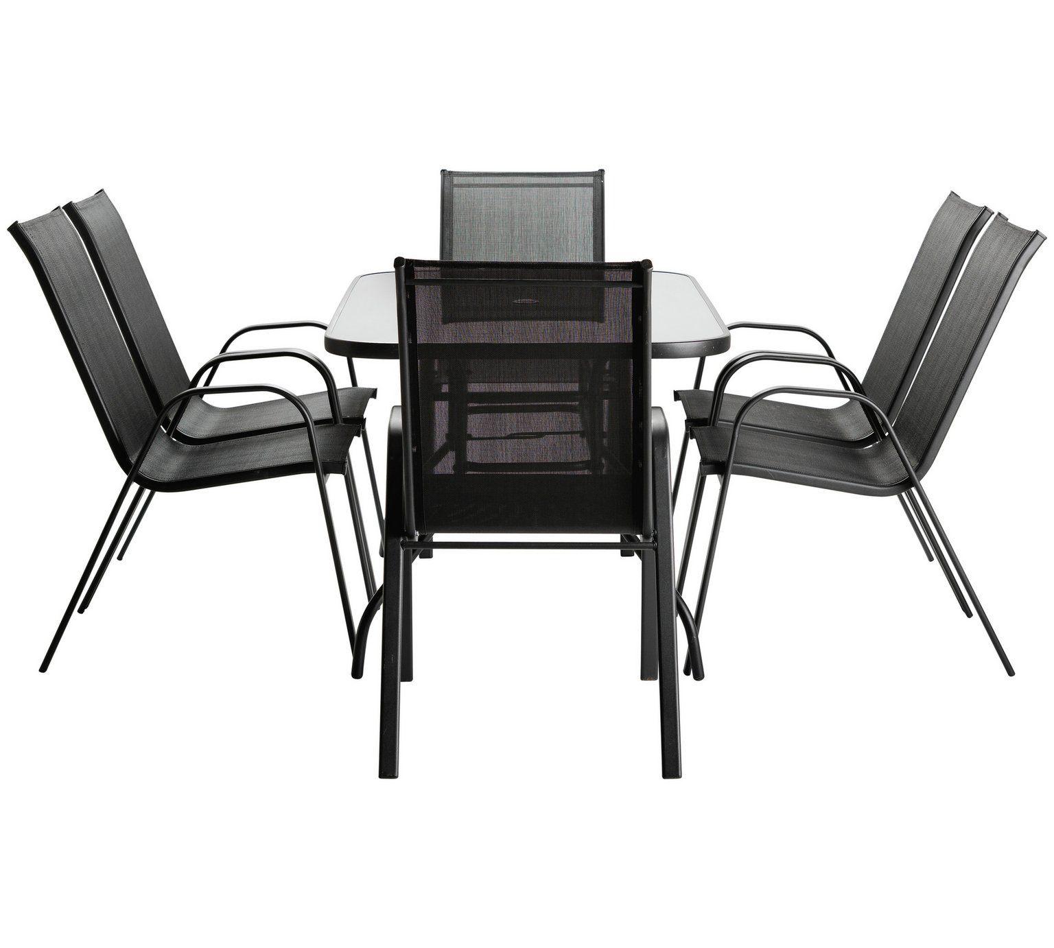 Buy HOME Sicily 6 Seater Patio Furniture Set at Argos.co.uk, visit ...