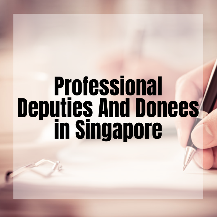 Professional Deputies and Donees scheme Launched Good