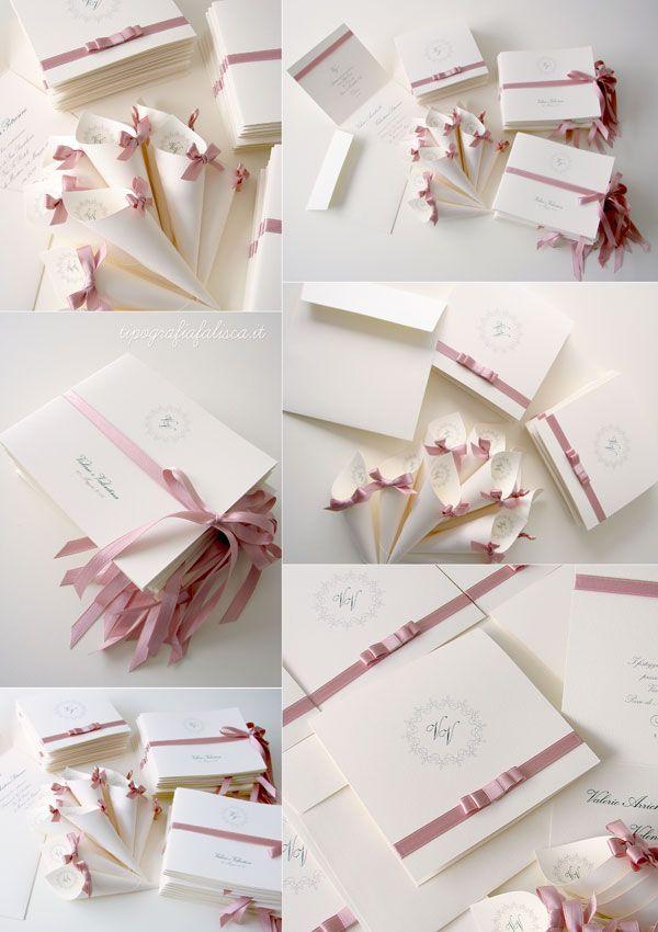 Coordinato Nozze Grace Rosa Antico Nozze Inviti Per Matrimonio Biglietto Di Matrimonio