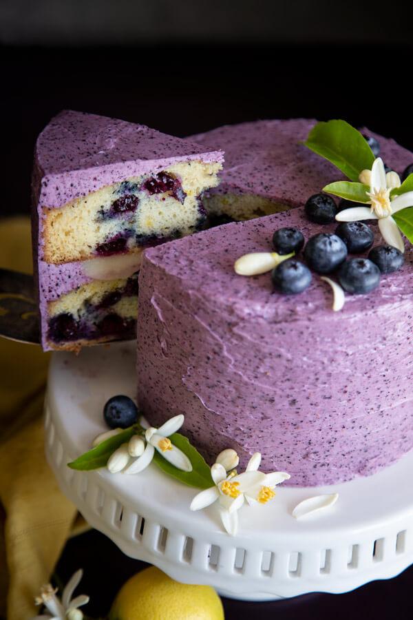 Lemon Blueberry Cake Wild Wild Whisk Recipe In 2020 Blueberry Cake Blueberry Lemon Cake Blueberry Cake Recipes