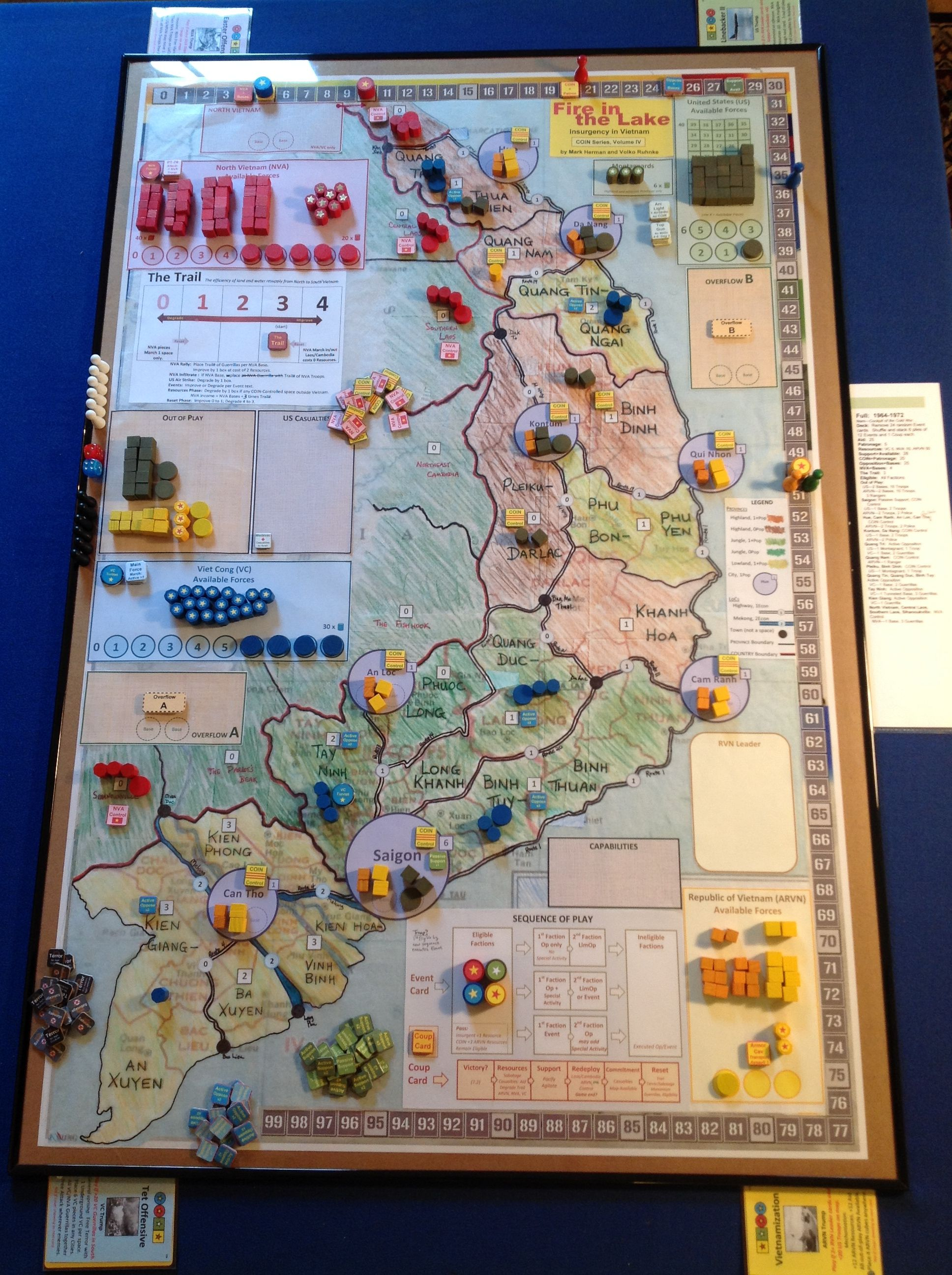 GMT Games Fire in the Lake, COIN series Vietnam War