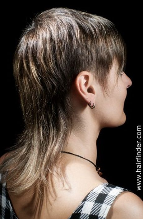 Short Mullet Hairstyles For Women Hipster Mullets In
