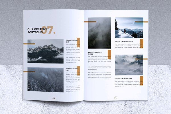 Creative Brochure Template Vol 03 by misterRyArt™ on