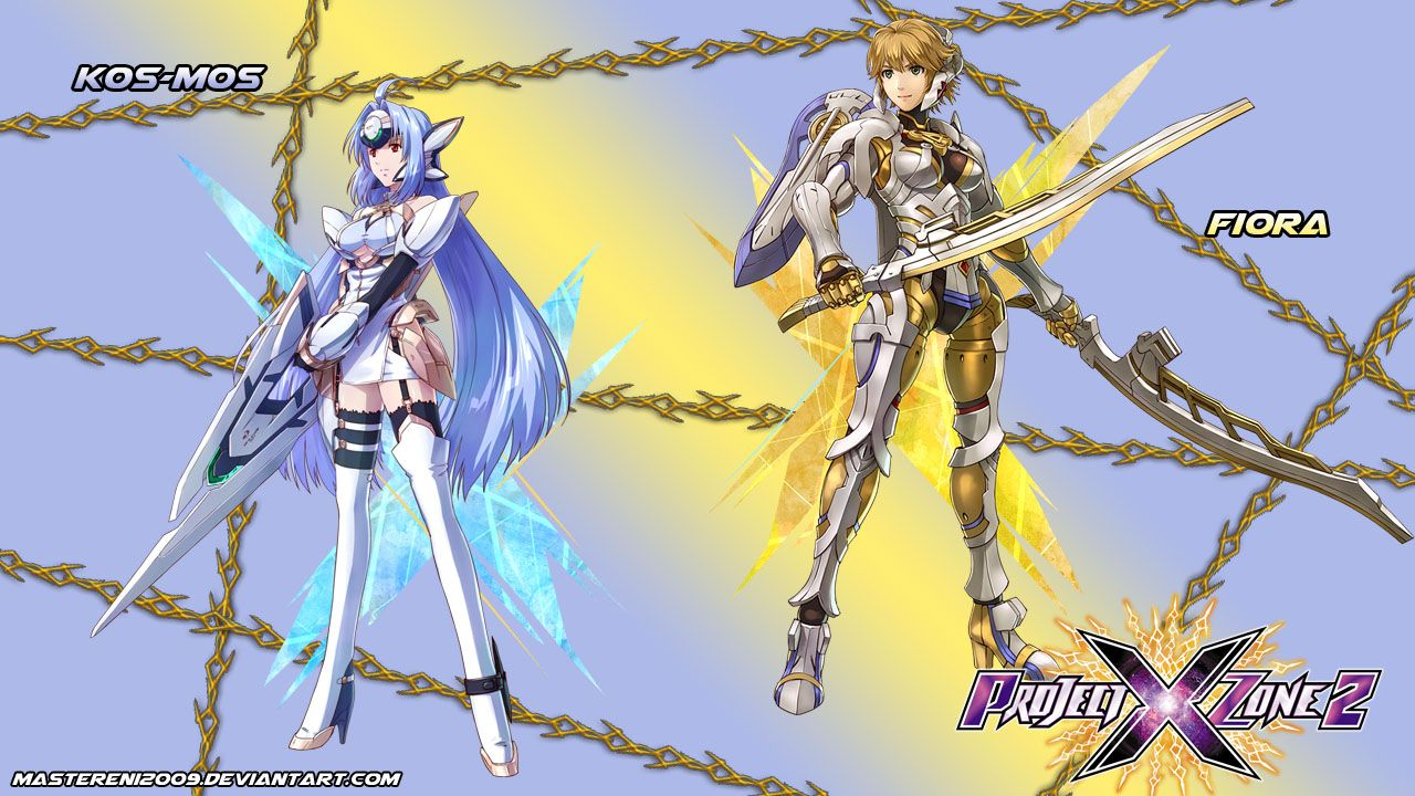 Project X Zone 2 Featuring Kos Mos Ver 4 From The Xenosaga Series