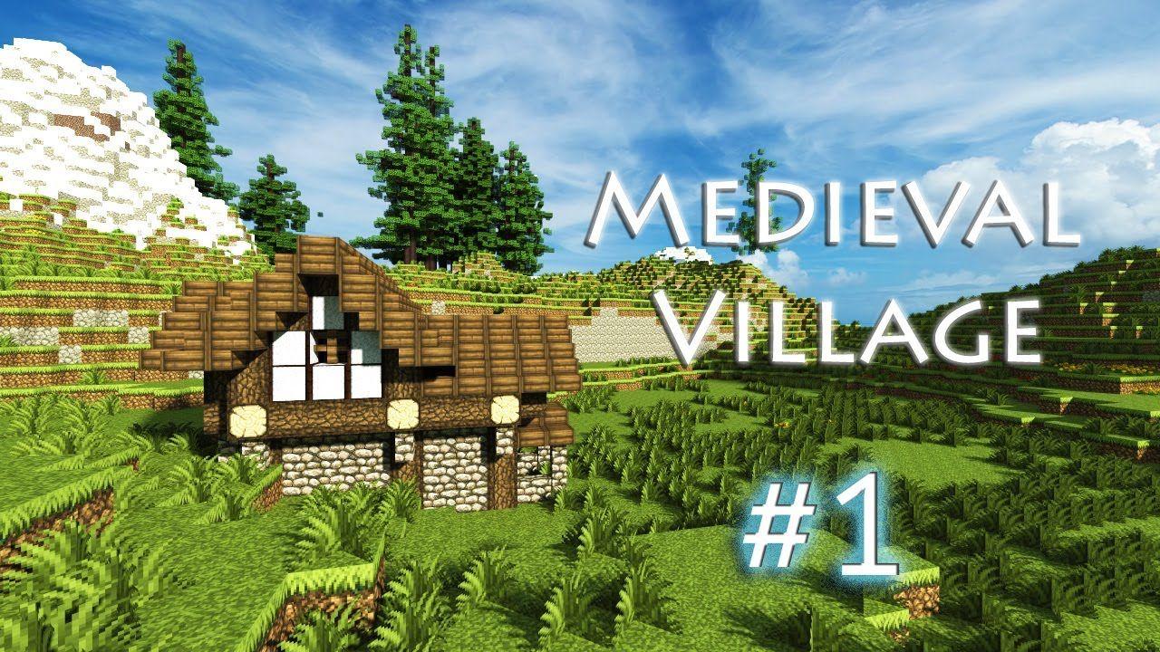Minecraft: Let's Build a Medieval Village Part 1 | MineCraft