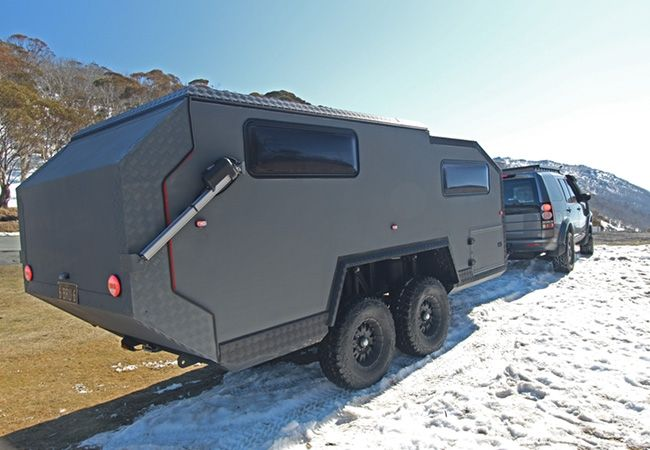 Australian Made Globally Driven Off Road Camper Trailer Off