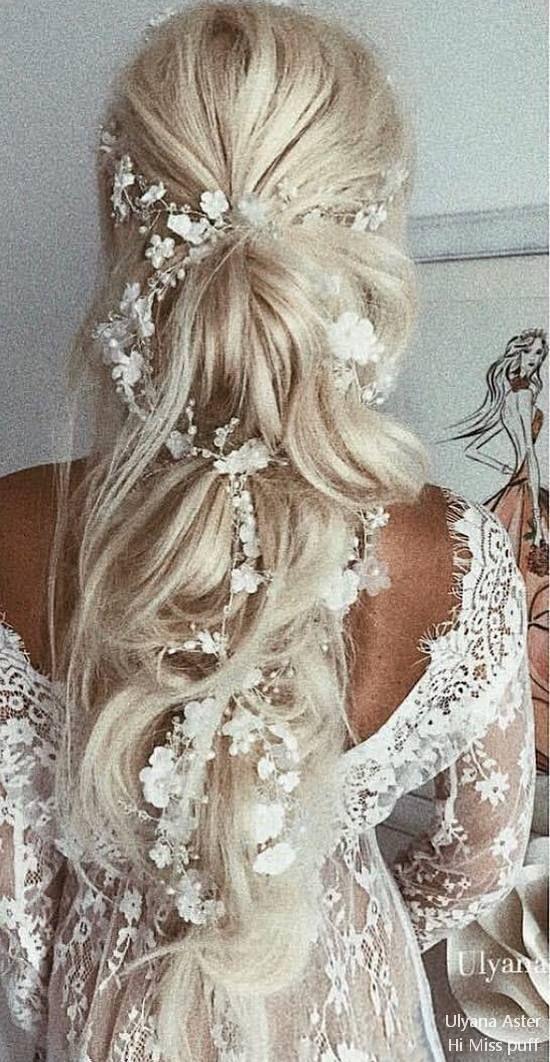 38 Ulyana Aster Bridal Hochzeitsfrisuren für langes Haar, #aster #bridal #hairst …