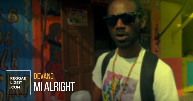Devano - Mi Alright (VIDEO)  #21stHapilosDigital #DameonGayle #devano #Devano #MiAlright #ReggaeVibesMusic #ReggaeVibesRiddim