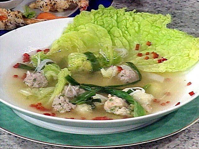 Asian meatball soup recipe emeril lagasse food network asian meatball soup recipe emeril lagasse food network foodnetwork forumfinder Choice Image