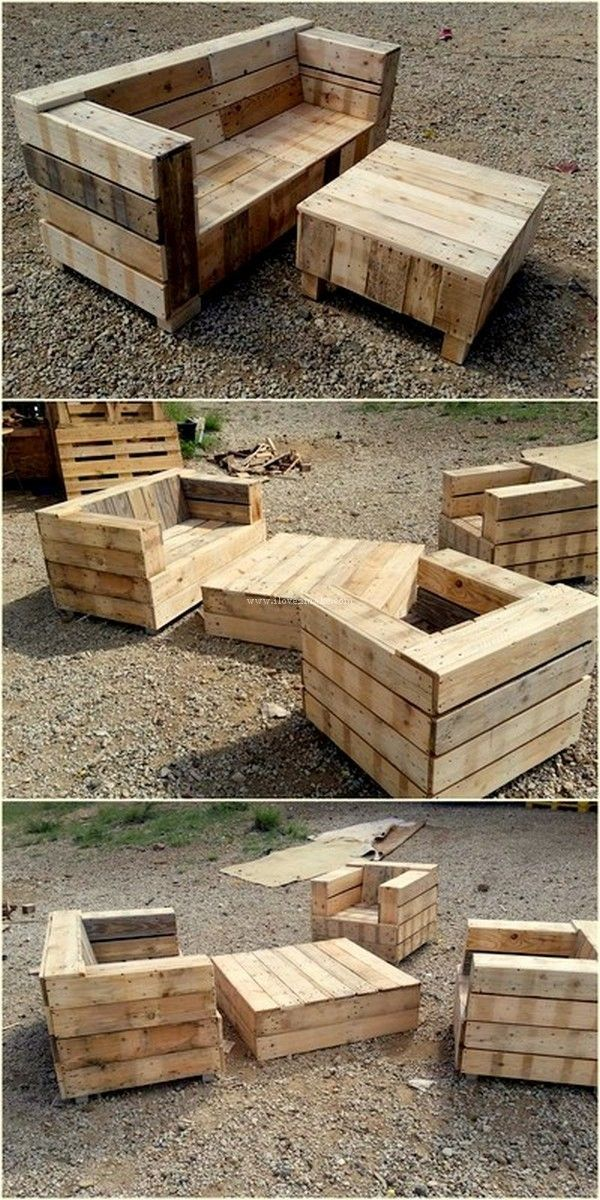 How To Make Implausible Things With Old Wooden Pallets