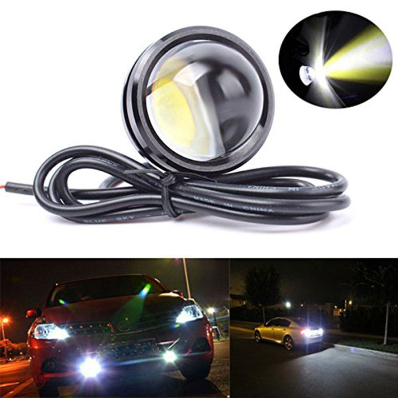 Find More Daytime Running Lights Information About 1x 15w 12v Super Bright White Blue Yellow Led Light Eagle Eye Cheap Led Lights Running Lights Led Fog Lights