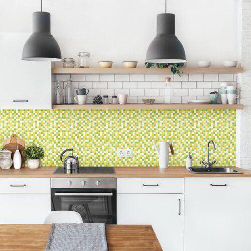 Photo of Ebern Designs PVC Spritzschutzpaneel Selbstklebend Axton Frühlingsset | Wayfair.de