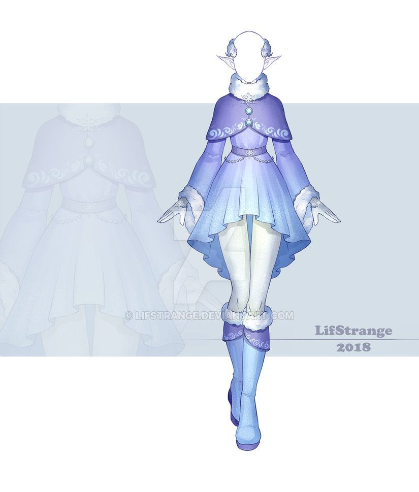 Commission Outfit 228 By Lifstrange On Deviantart Dress Sketches Anime Dress Fashion Design Drawings
