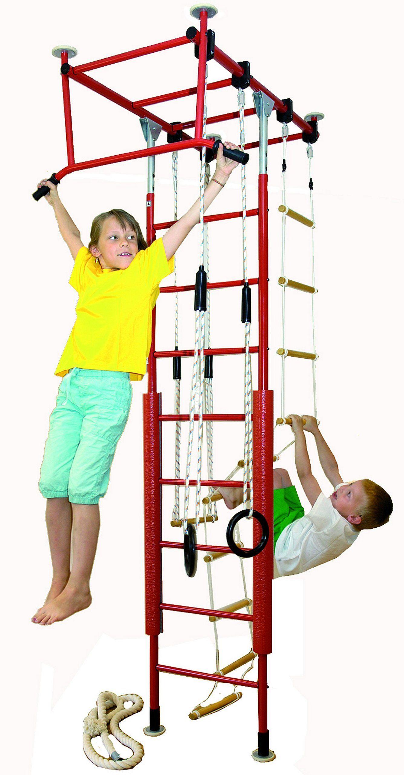 Fabulous Kletterdschungel Sprossenwand Indoor Kletterger st in vielen Varianten und Farben einfarbig Amazon