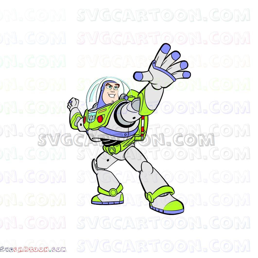Buzz Lightyear Toy Story Svg Dxf Eps Pdf Png Buzz Lightyear Lightyears Svg