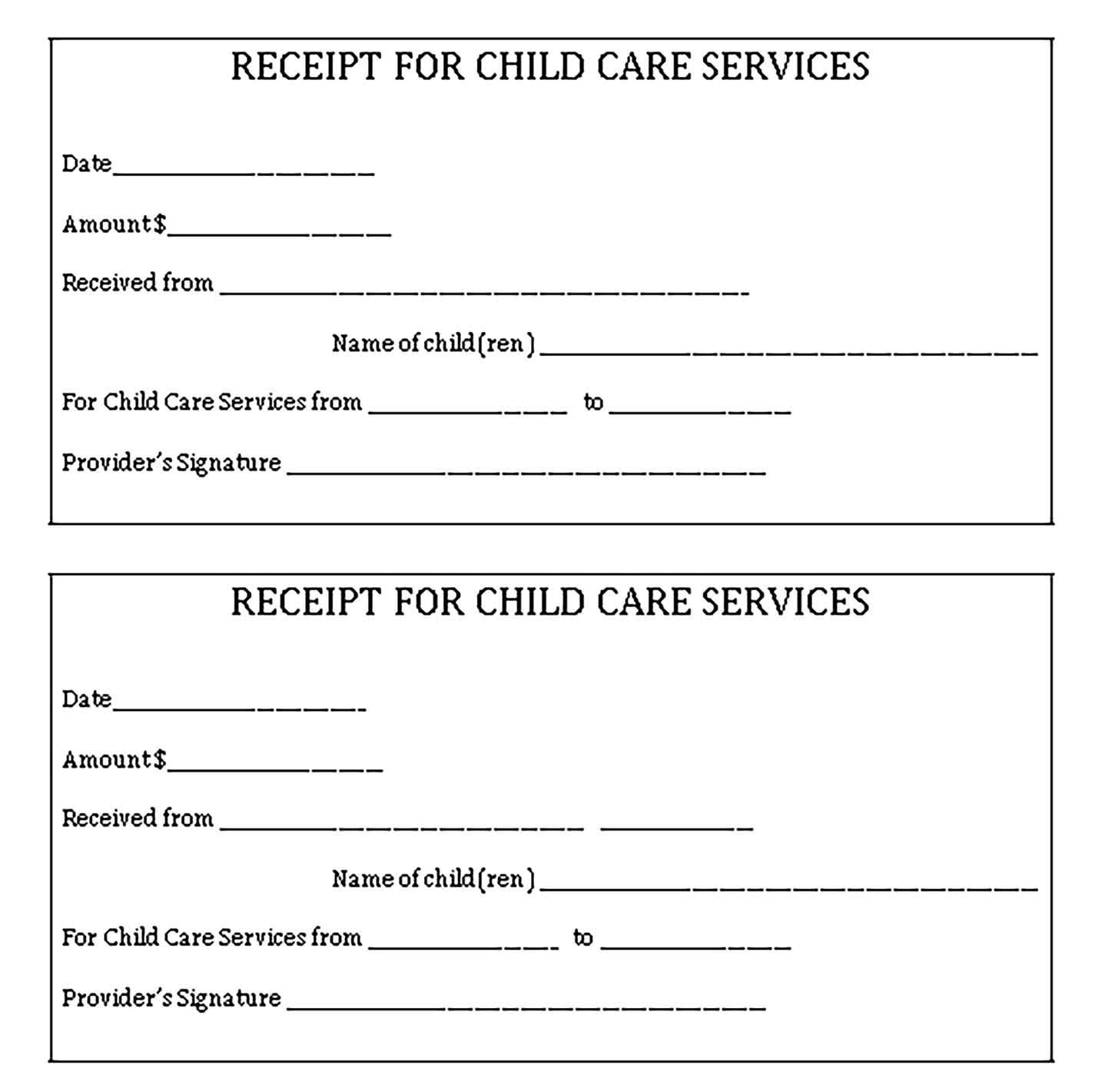 Printable Paid Receipt Template Receipt Template Templates Writing Forms