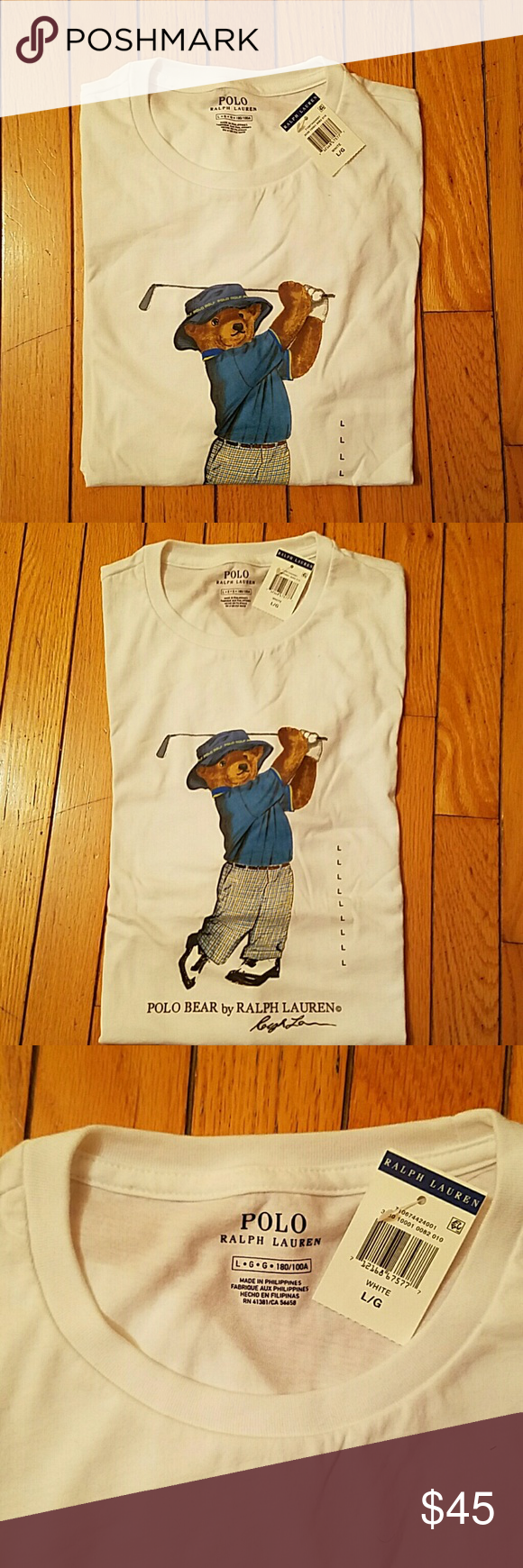9d85ec44 2017 limited edition Polo Bear T-shirt Polo Bear Golf T-shirt price is  non-negotiable Ralph Lauren Shirts Tees - Short Sleeve