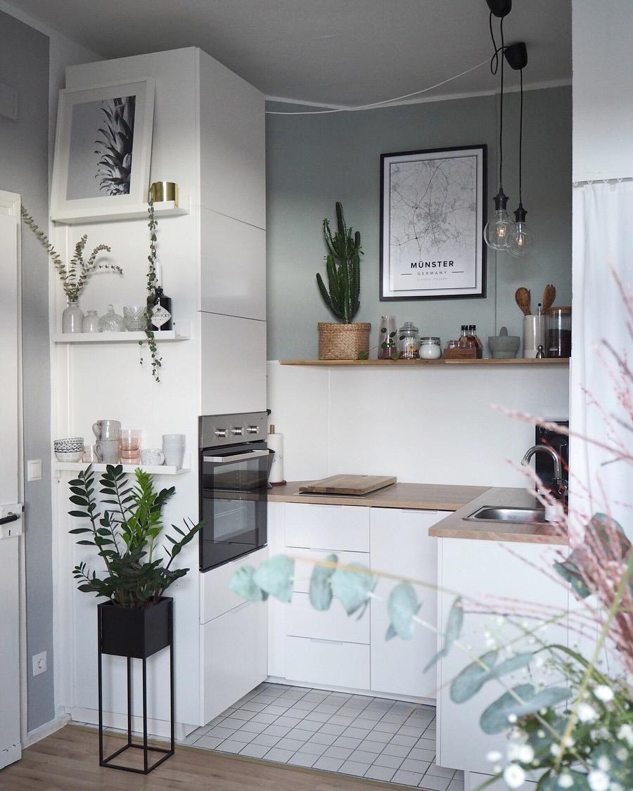 Kleine Küchen größer machen: So geht's! #smallremodel