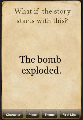 Prompt -- what if the story starts with this...the bomb exploded