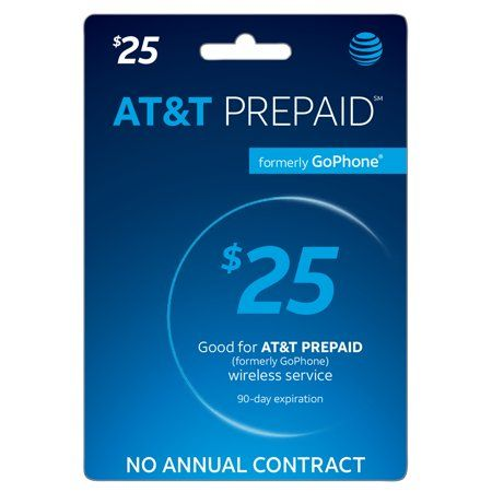 "At&t Prepaidâ"" $25 (Email Delivery) 