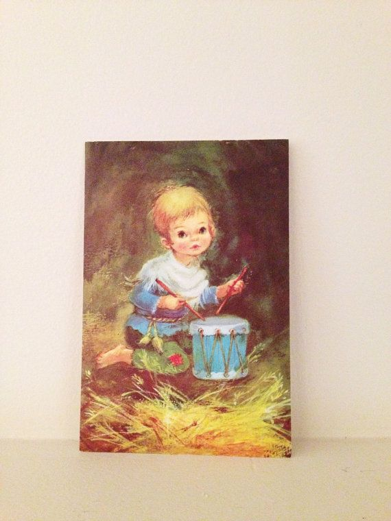Vintage 1940s Christmas Card by Natoyaista on Etsy