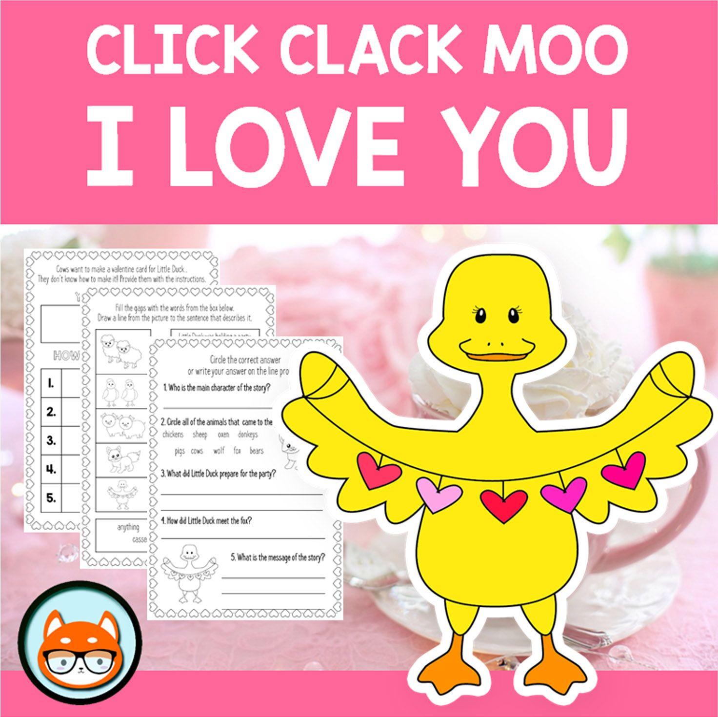 Click Clack Moo I Love You By Doreen Cronin