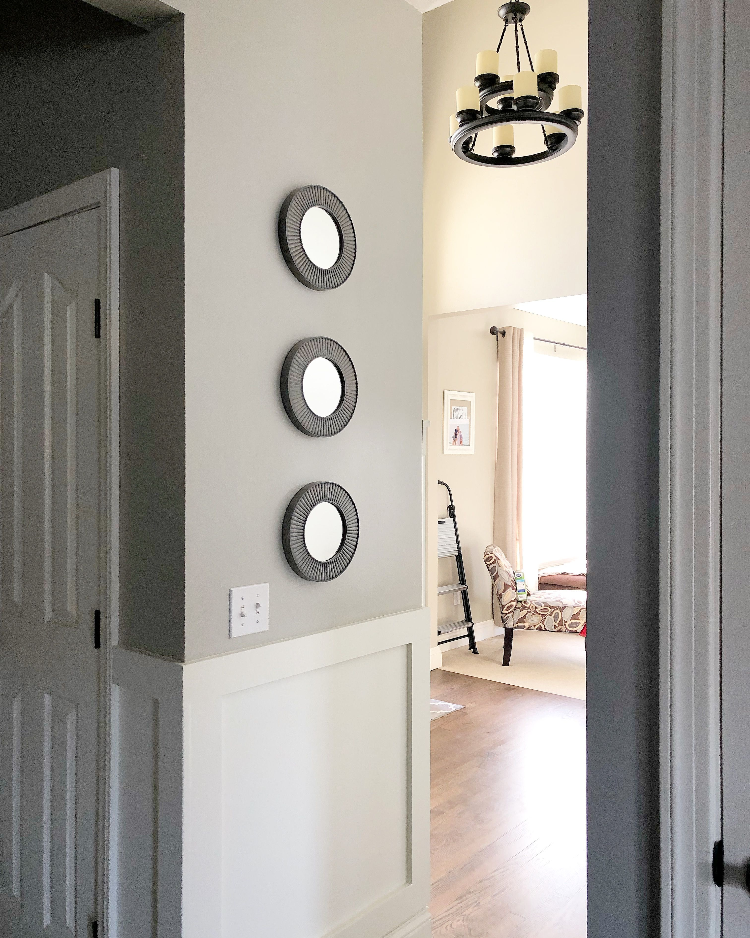 Sherwin Williams Mindful Gray And Jogging Path In Foyer Mindful Gray Sherwin Williams Home Projects Mindful Gray