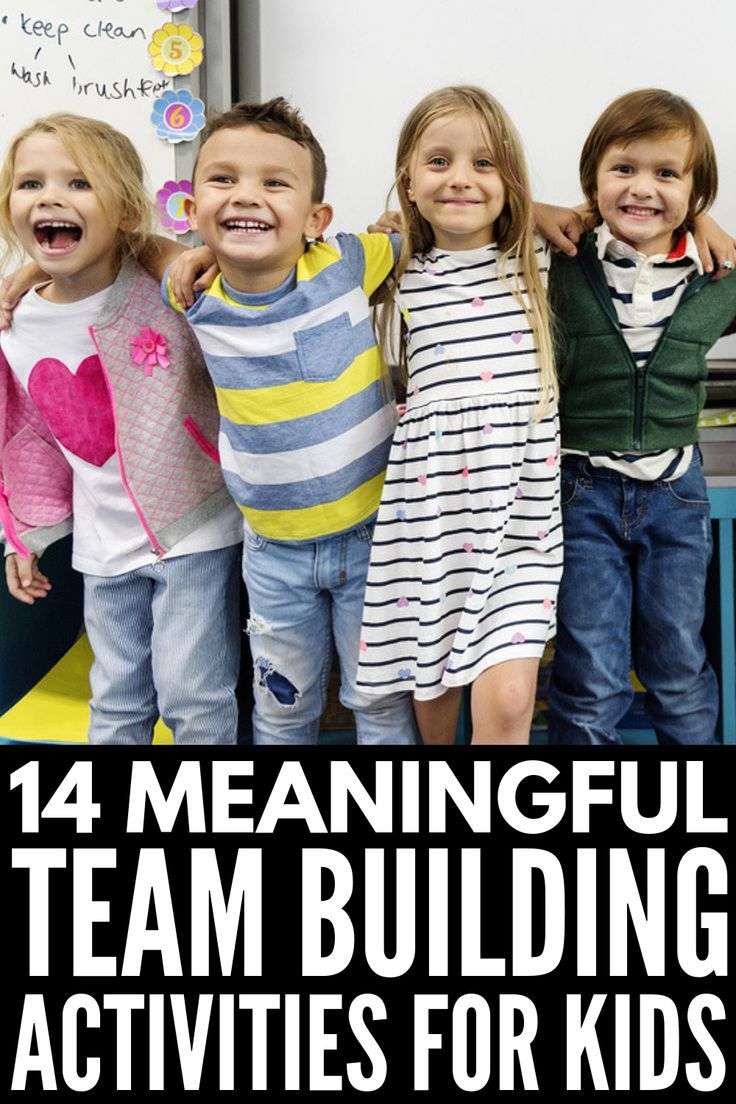 14 Fun and Engaging Team Building Activities for Kids ...