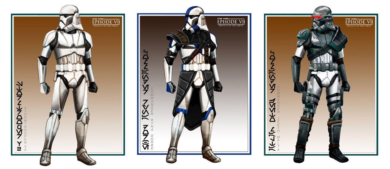 V2 0 Stormtrooper Commanders by jubjubjedi on DeviantArt