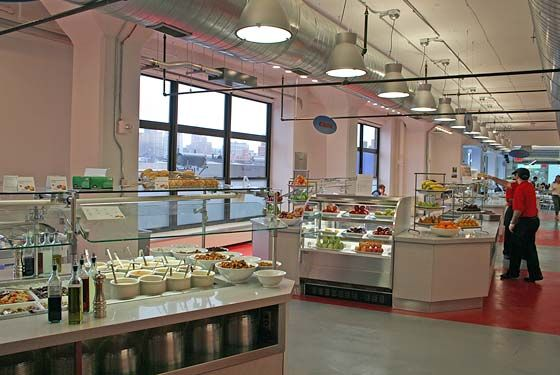 New Google Cafeteria Crushes Competitors' Cafeterias | Cafeteria, Cafeteria design, Google office