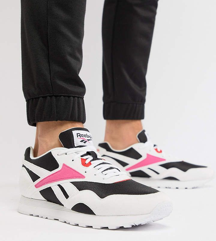 81b066ed2407d3 90 s INSPIRATION INCOMING - Check them out now - Reebok Classic Rapide  Sneakers In Black Exclusive to ASOS  reebok  sneakers