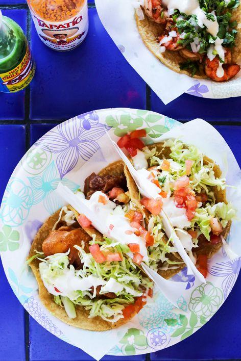 Crispy Fish Tacos With Chipotle Crema Recipe Fish Tacos Recipe