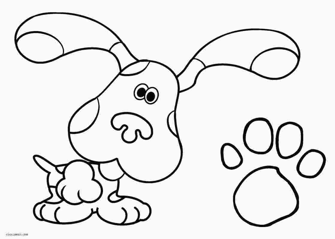 Blues Clues Coloring Pages With Images