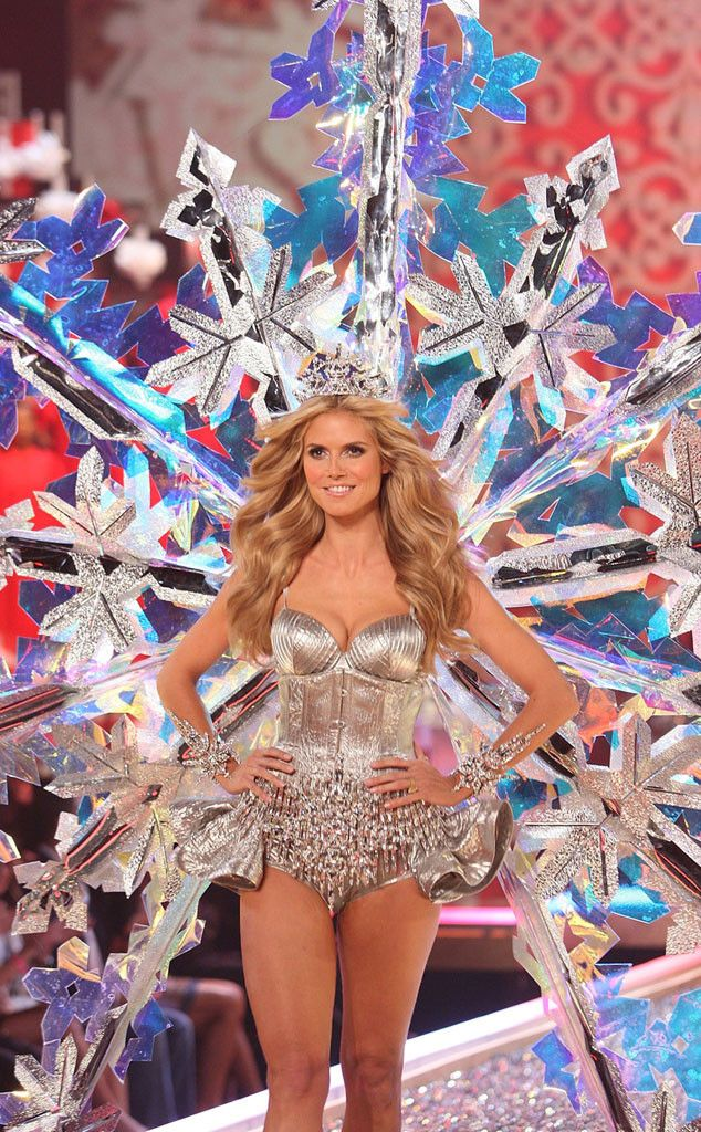 85626b6dc5 Heidi Klum from Most Memorable Victoria s Secret Fashion Show Looks of All  Time