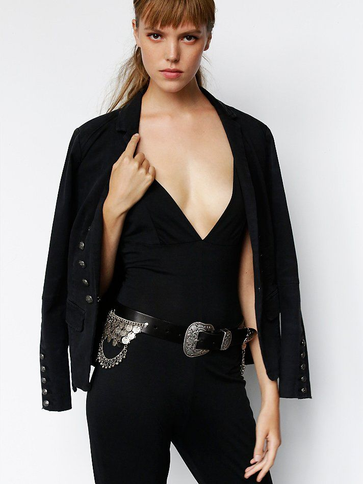 Understated Leather for Free People Troublemaker Belt at Free People Clothing Boutique