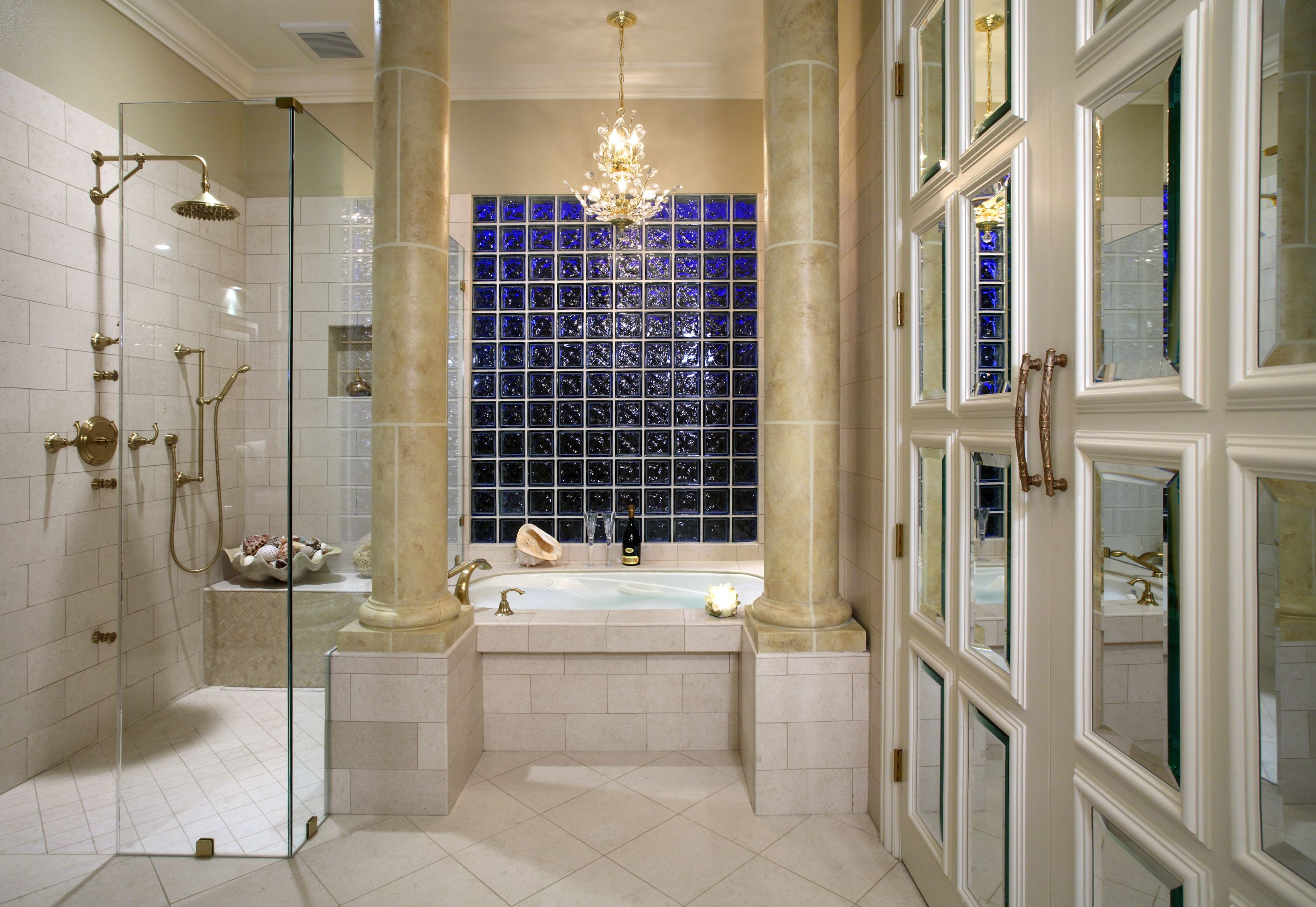 Interior design of bathroom suzanne myers elite interior design  elite interior design by