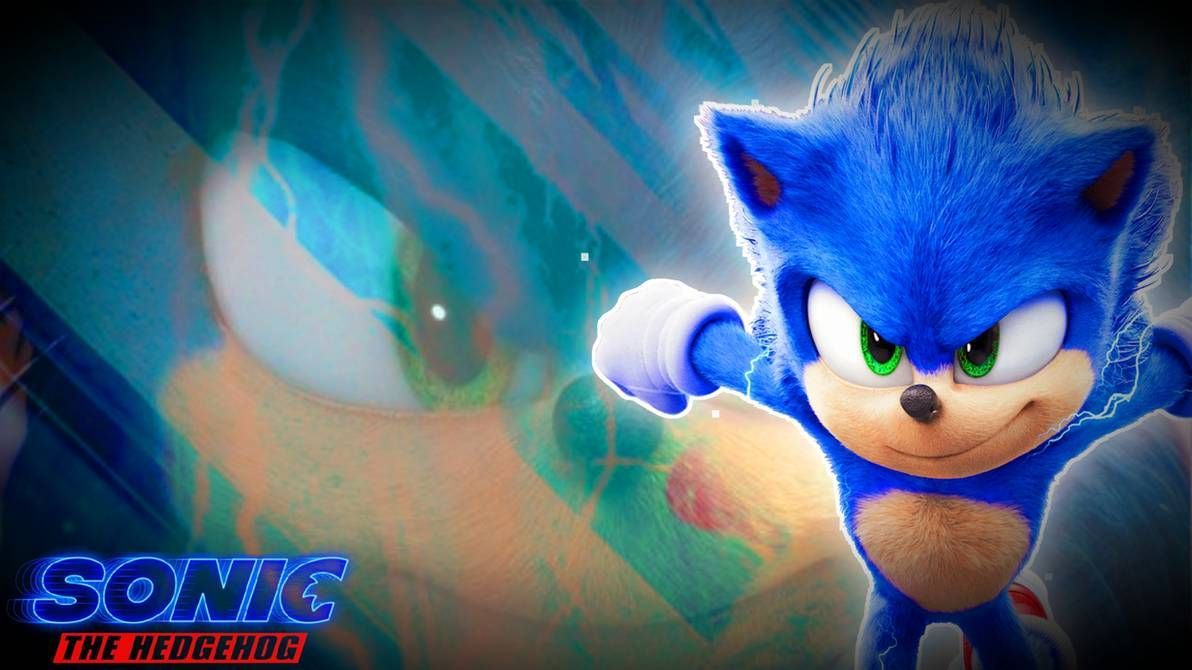 Sonic The Hedgehog 2020 Film Wallpaper By Switchstar2001 On