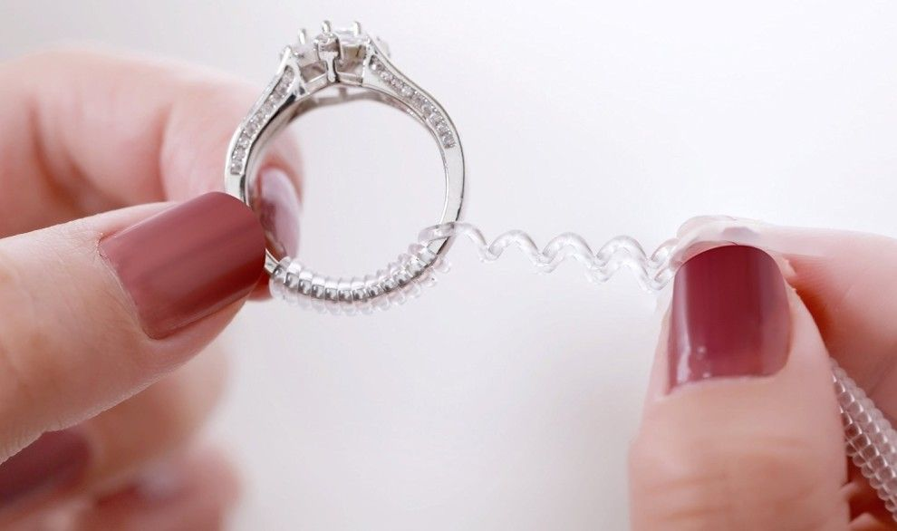 how to make a ring smaller without resizing