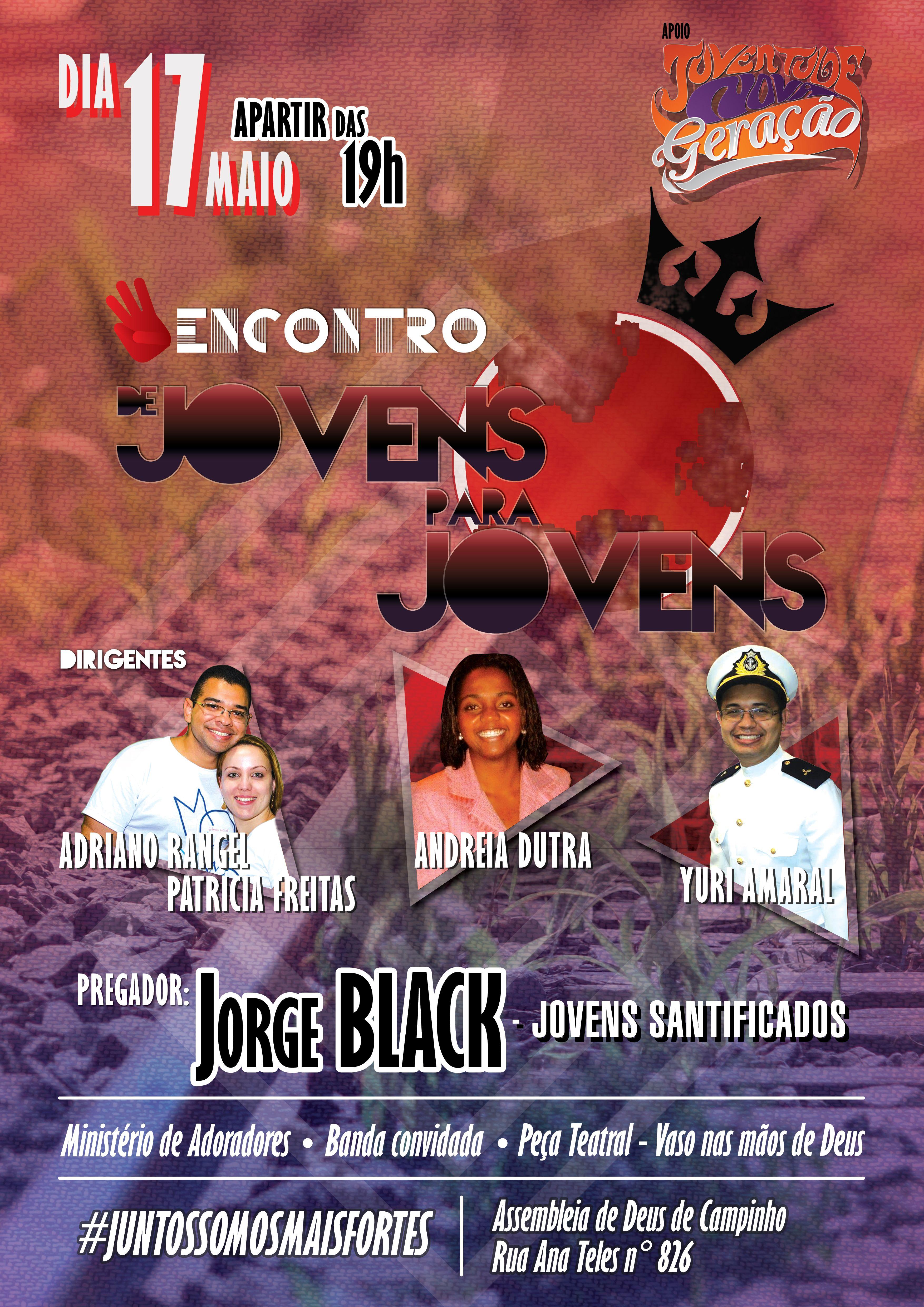 Poster De Jovens Para Jovens 3