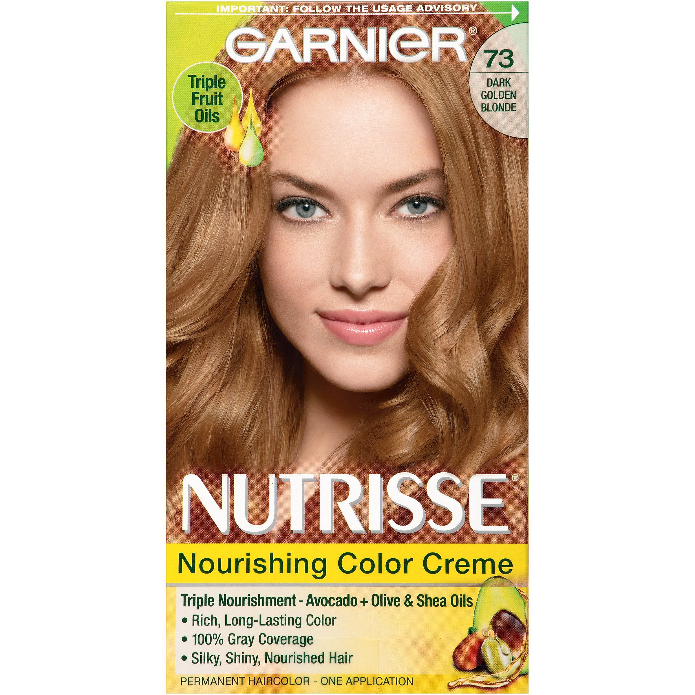 Garnier Nutrisse Nourishing Hair Color Creme Blondes 80 Medium