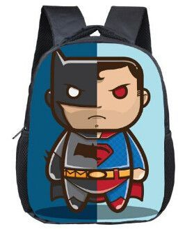 68ce2248d4 12 Inch New Cartoon Superhero Backpack For Children School Bags Superman  Spiderman Batman Kids Kindergarten Backpack Boys Bag