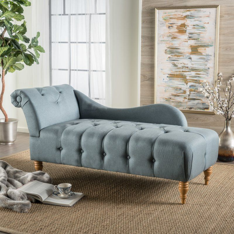 Orlowski Chaise Lounge Grey Chaise Lounge Chaise Lounge Tufted