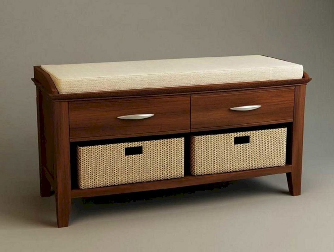 27 Diy Storage Bench Design Ideas For Your Unique Living Room Decoration Decor It S Storage Bench Designs Diy Storage Bench Storage Bench Bedroom