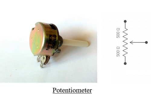 Potentiometer Symbol | Electronics Components | Pinterest ...