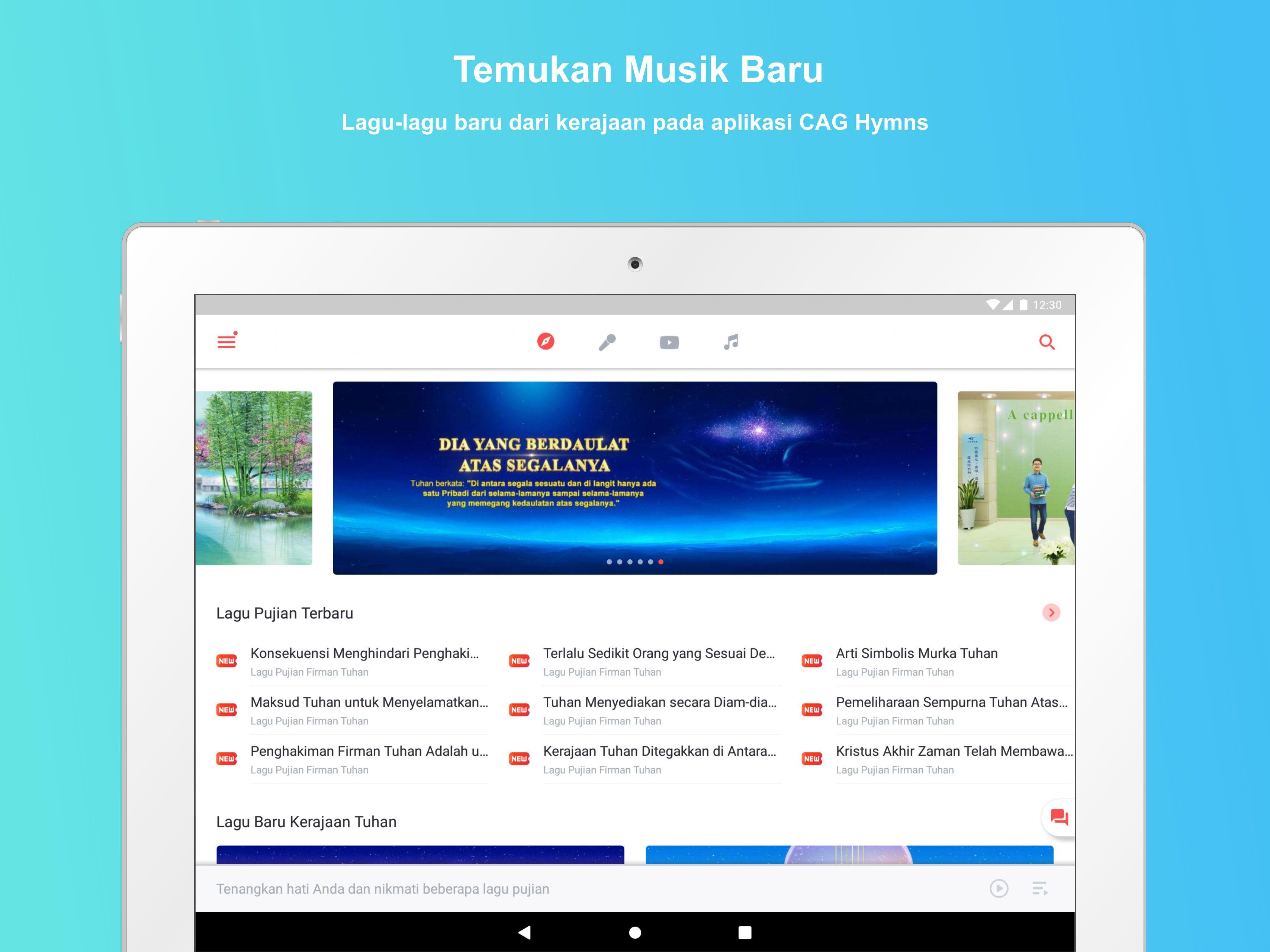Aplikasi Gereja Tuhan Yang Mahakuasa Lagu Pujian Tuhan Alkitab