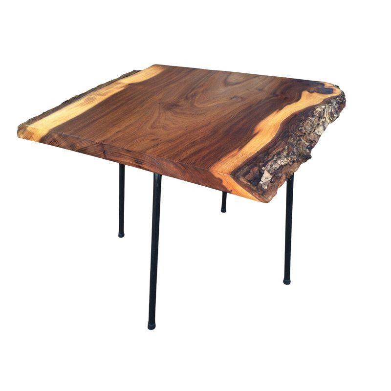 Mod George Nakashima Style Tail Table Furniture