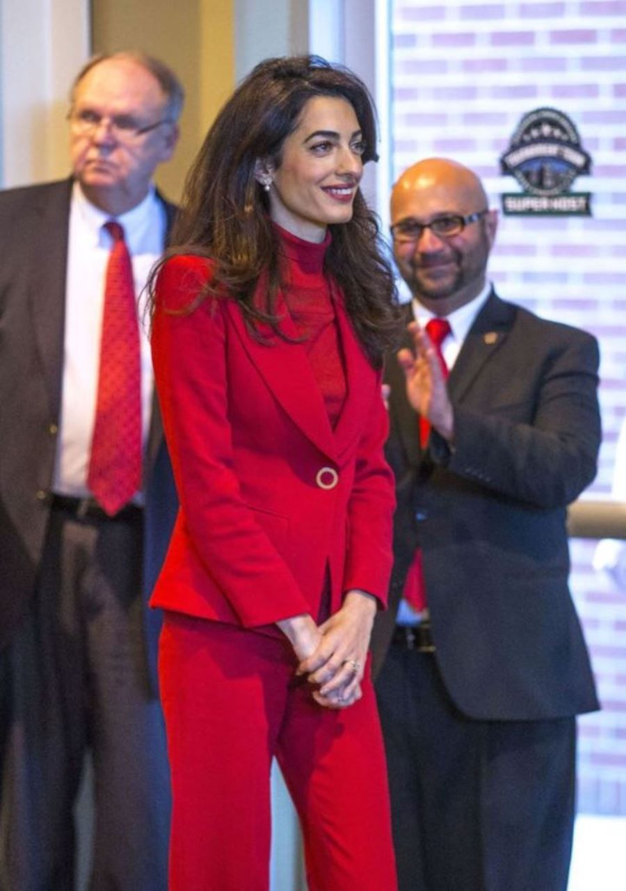 Amal Clooney visits Guilford College in Greensboro 13 11