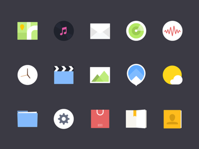 Some Icons For FINE