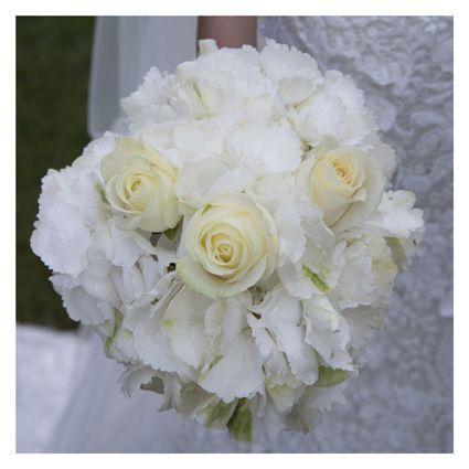 bouquet sposa ortensie e rose