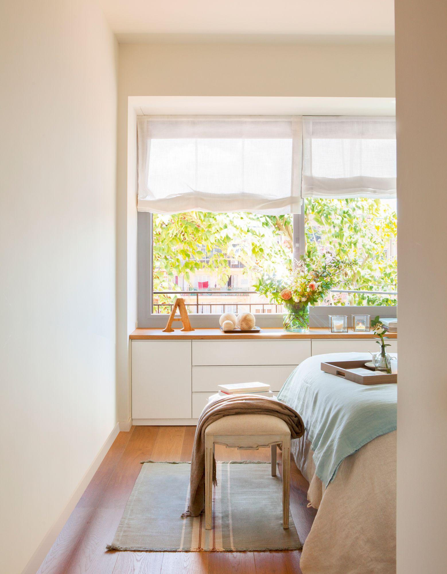 Resultado de imagen de mueble bajo ventana dormitorio - Mueble de habitacion ...